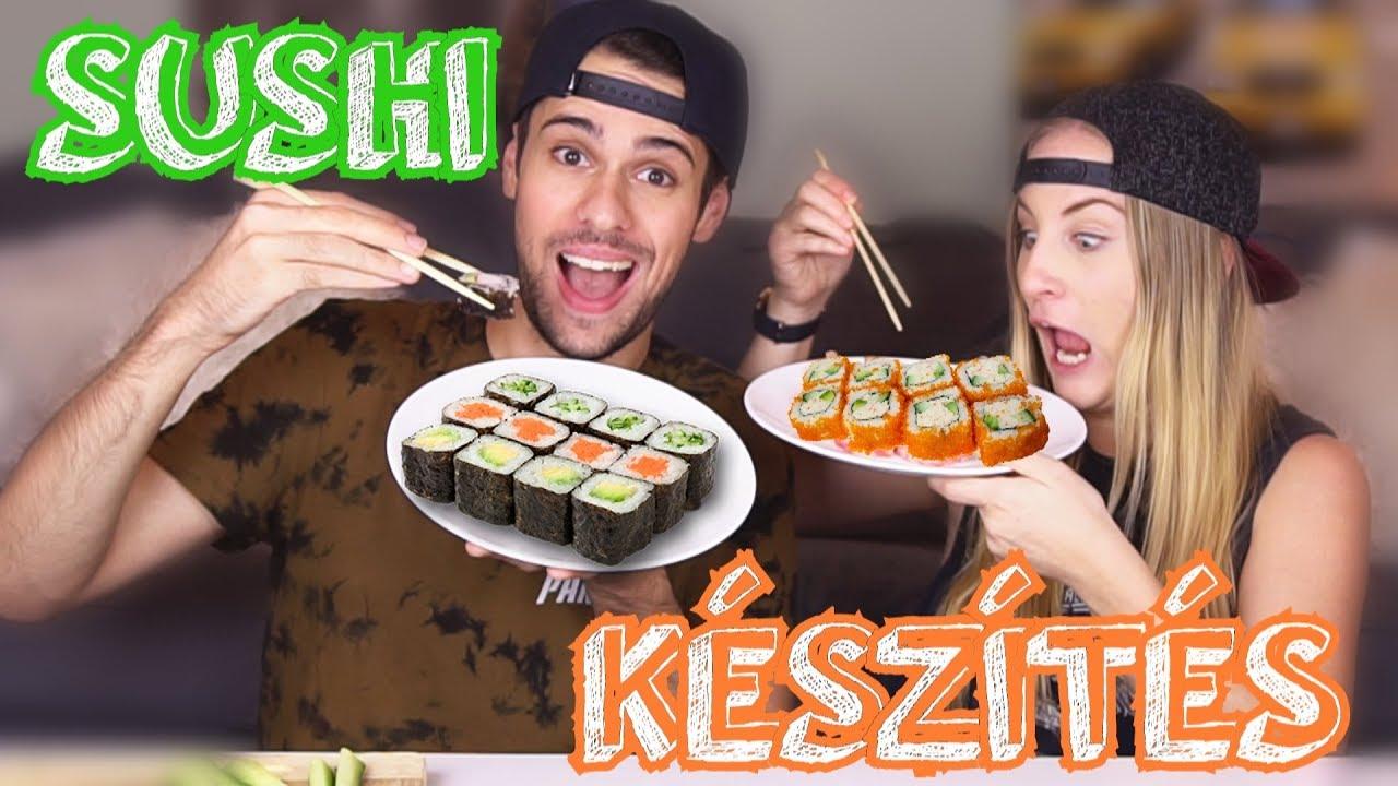 férgek a sushi ból