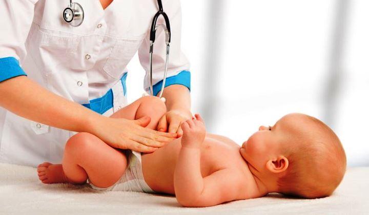 férgek egy két hónapos kisbabában)