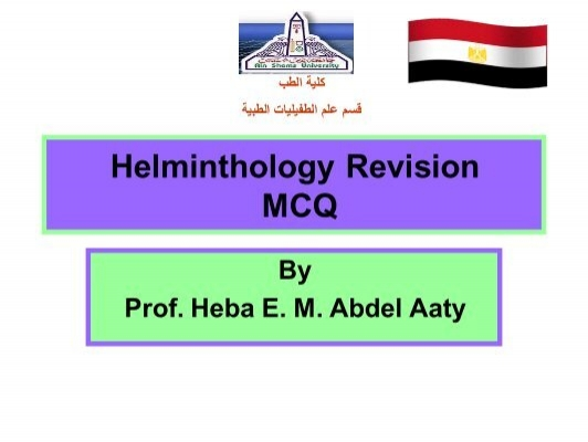 helminthology mcqs