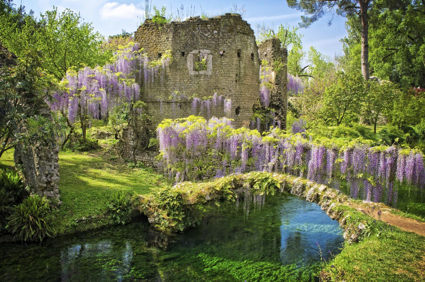 Róma-utazási tanácsok - Index Fórum, I giardini di ninfa sito ufficiale