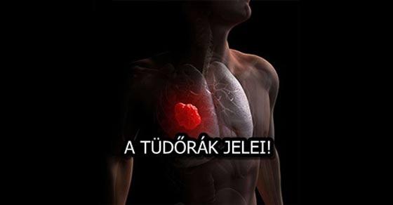 A tüdőrák figyelmeztető jelei