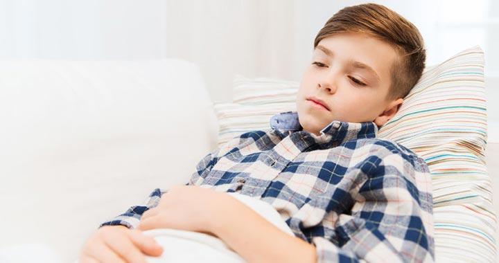 Giliszta tünetei gyerekeknel, Belfergesseg jelei