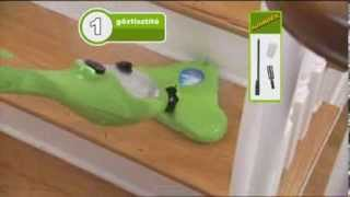 mosás a tojásféregben)