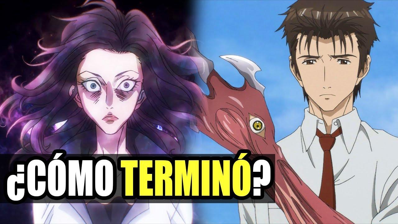 parazita anime karakterek