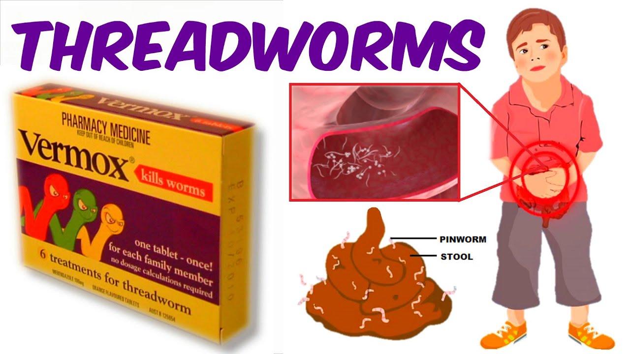pinworms gyermekek egyéves kezelés alatt)