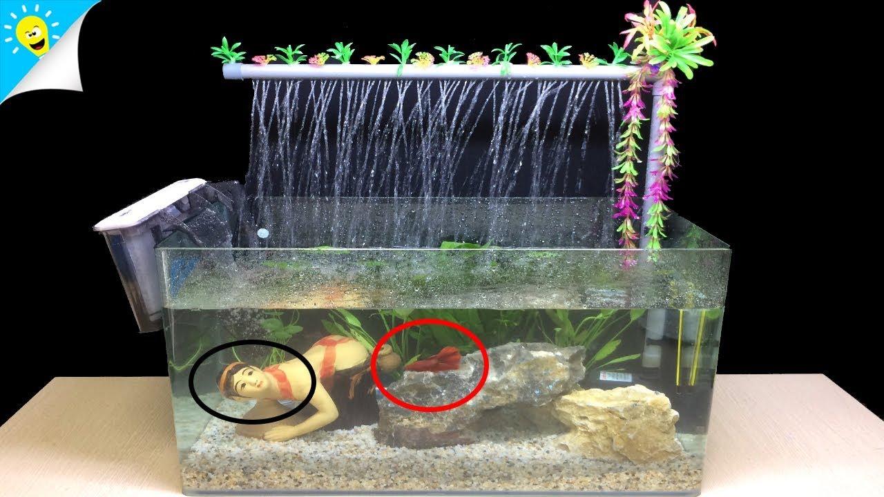 fergek az akvarium falan)