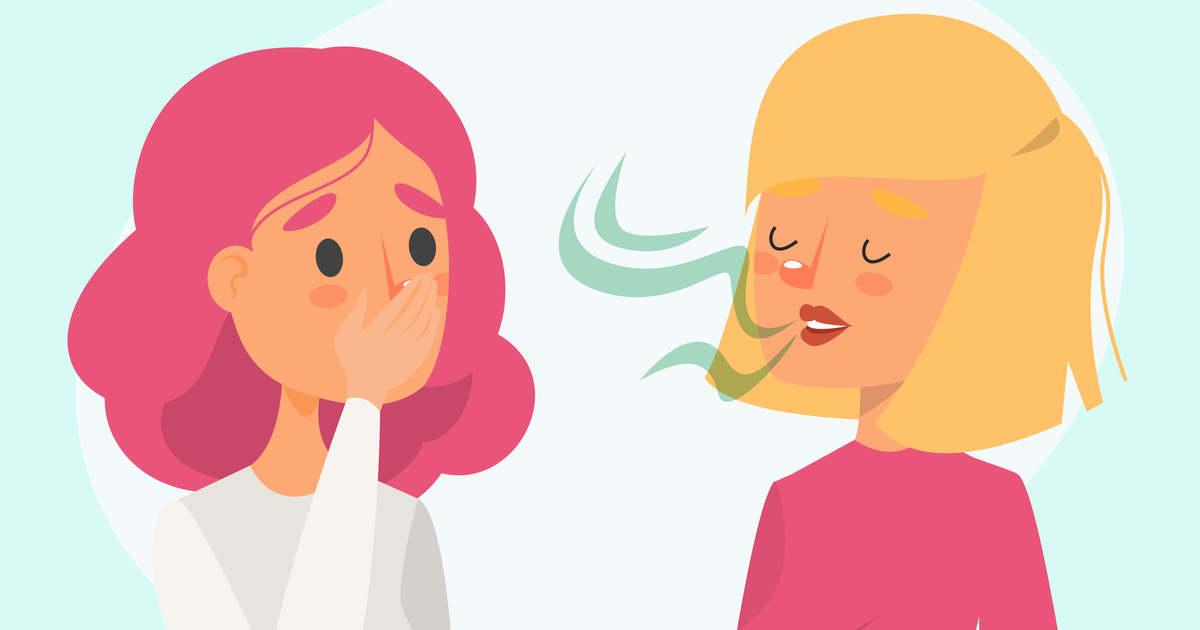 ha nem eszel rossz leheletet