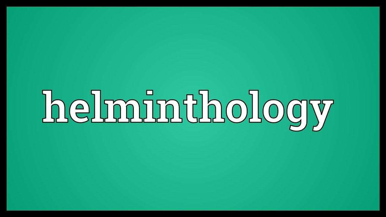 helminthology adalah enterobiasis kezelése terhes nőkben