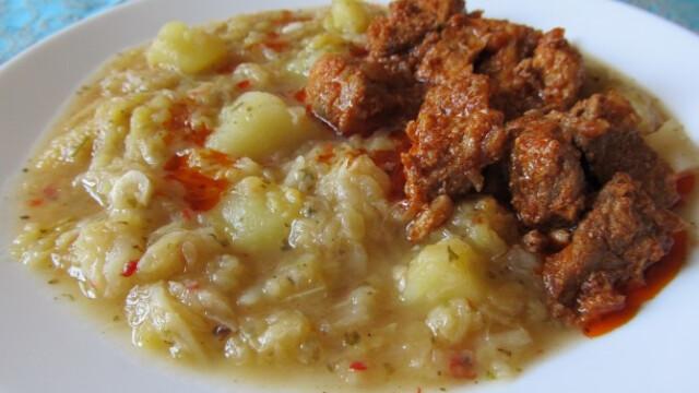 magyaros kelkáposzta főzelék