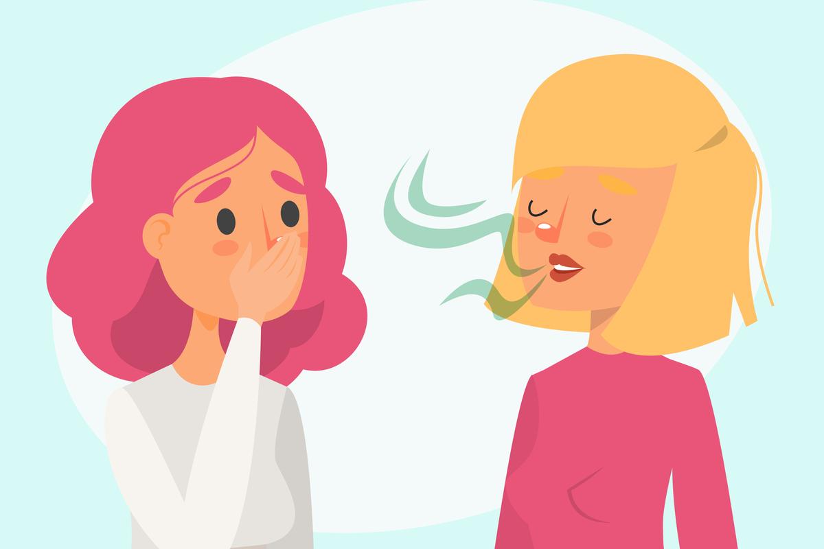 kalcivirózis rossz lehelet